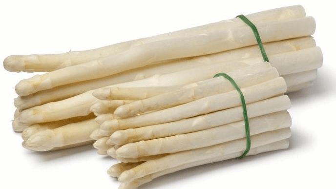 What is the WHITE ASPARAGUS
