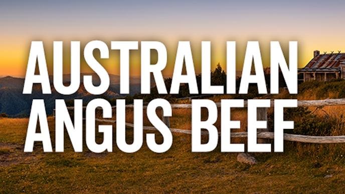 AUSTRALIAN BLACK ANGUS BEEF